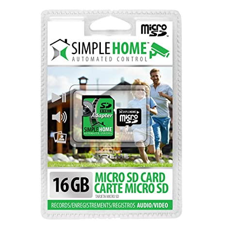 Amazon.com : SimpleHome XMC7-1001-BLK 16GB Micro SD, Black ...