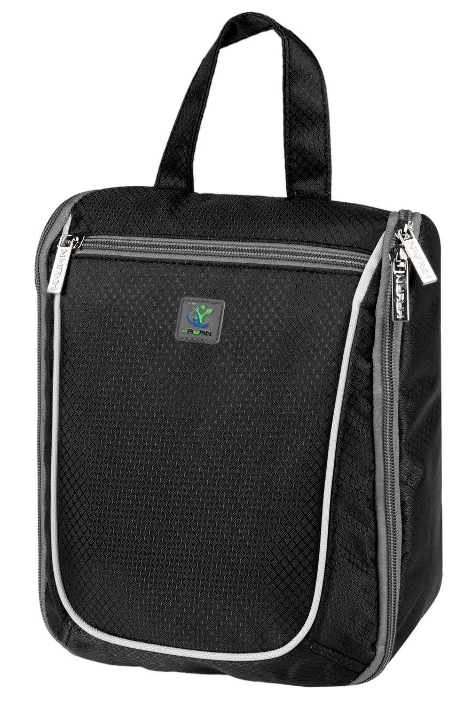 532564bb5f Goldwheat Waterproof Travel Toiletry Bag for Women Men Cosmetic Travel  Organizer Hanging Toiletry Kit