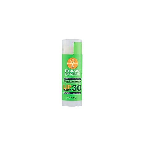Raw Elements Herbal Rescue Lip Balm, 0.15 Oz Vogue International OGX Ever Clear Oil Control Toner, 3.3 oz