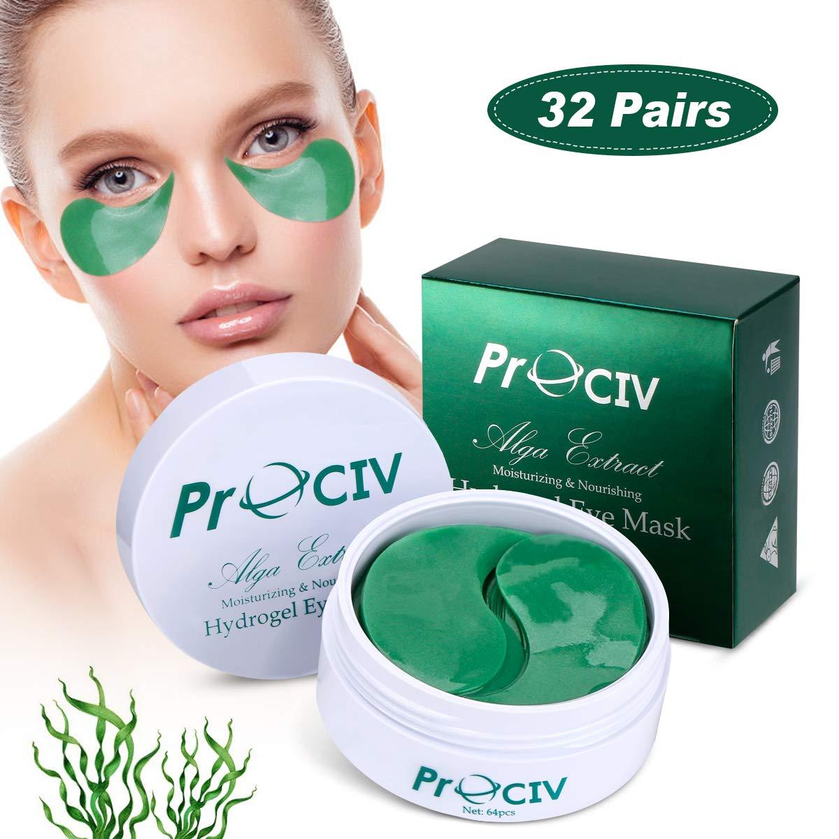 Collagen Under Eye Mask Patches Pads, Gel Eye Treatment Mask | Hydrating Puffy Eye Dark Circles Anti Wrinkles