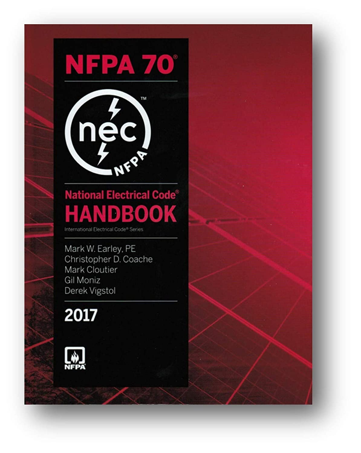 NFPA 70 National Electrical Code, NEC, Handbook (Hardcover) 2017 Edition 41VkqI5p70L