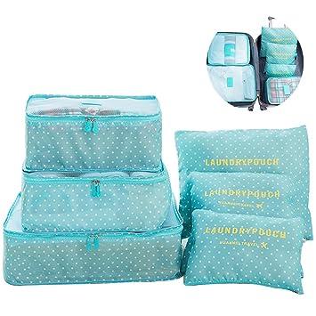 Switty 6pcs viaje bolsas de almacenamiento de ropa que ...