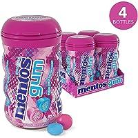 Mentos 曼妥思 Bubble Fresh Cotton 无糖口香糖,每罐45粒(4罐装)。