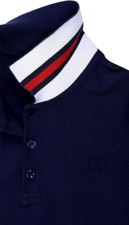 Gucci Niños Polo Camisa Azul Oscuro 311630 – 4057 Azul Azul 128 ...