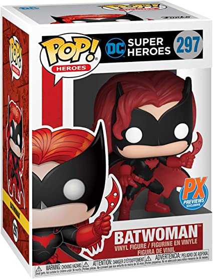 VINYL FIGURE BRAND NEW DC BATWOMAN PX #297 FUNKO POP PX EXCLUSIVE