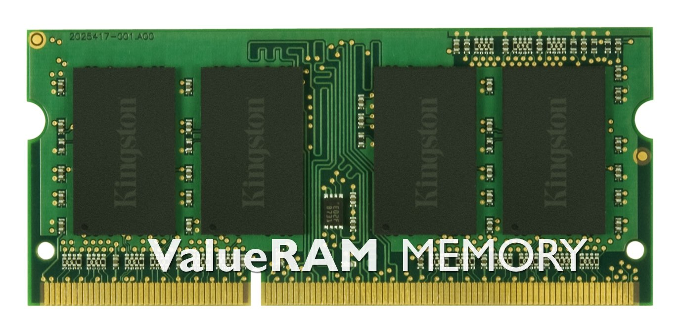 Kingston ValueRAM 2GB 1333MHz DDR3 Non-ECC CL9 SODIMM Notebook Memory