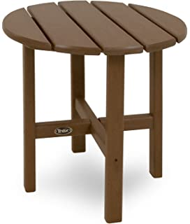 Ordinaire Trex Outdoor Furniture Cape Cod Round 18 Inch Side Table, Tree House