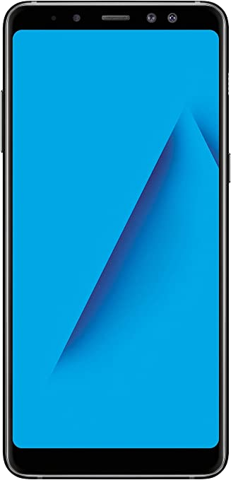 Samsung Galaxy A8+ (Black, 6GB RAM, 64GB Storage) Smartphones at amazon