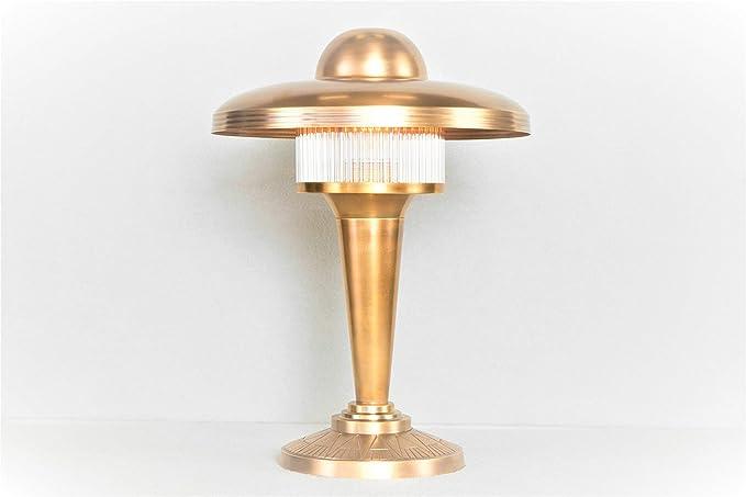Art Déco/petitot - Lámpara de mesa IV: Amazon.es: Iluminación