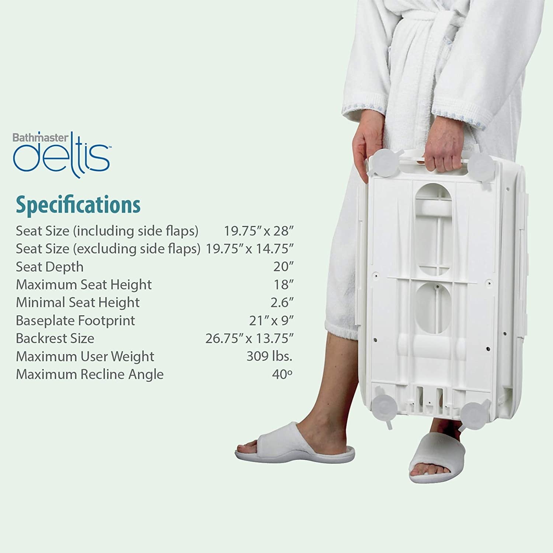 Amazon.com: Bathmaster Deltis elevador de bañera ...