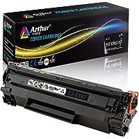Arthur Imaging - Cartuchos de tóner compatibles para Canon 137 (Negro, 1 Unidad)