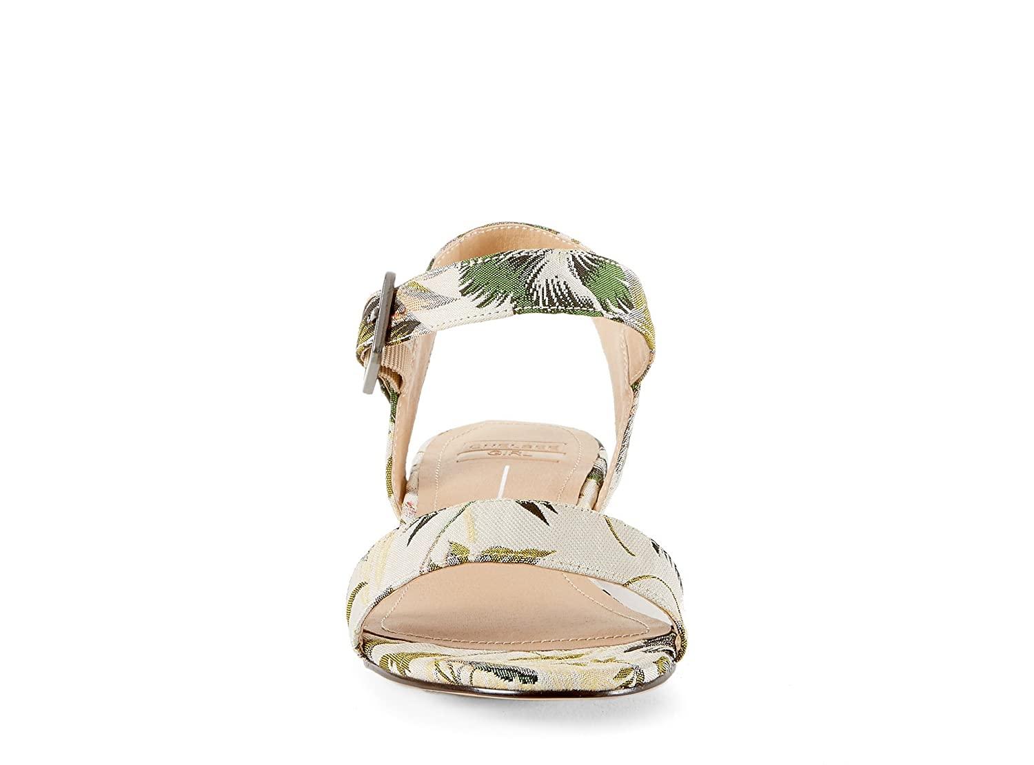 c61d253524a Yellow Shoes LAPAZ T Womens Low Block Heel Sandals - Casual   Comfortable -  Made from Microfiber - Perfect for Summer Multi Size 8  Amazon.ca  Shoes    ...