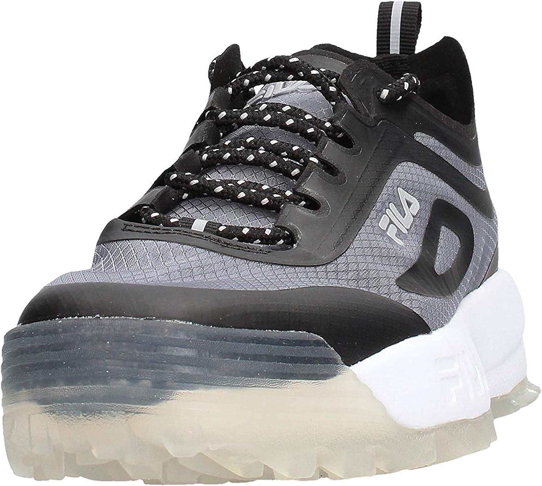 Fila Disruptor Run Zapatillas negras para mujer 1010866-25Y: Amazon.es: Ropa y accesorios