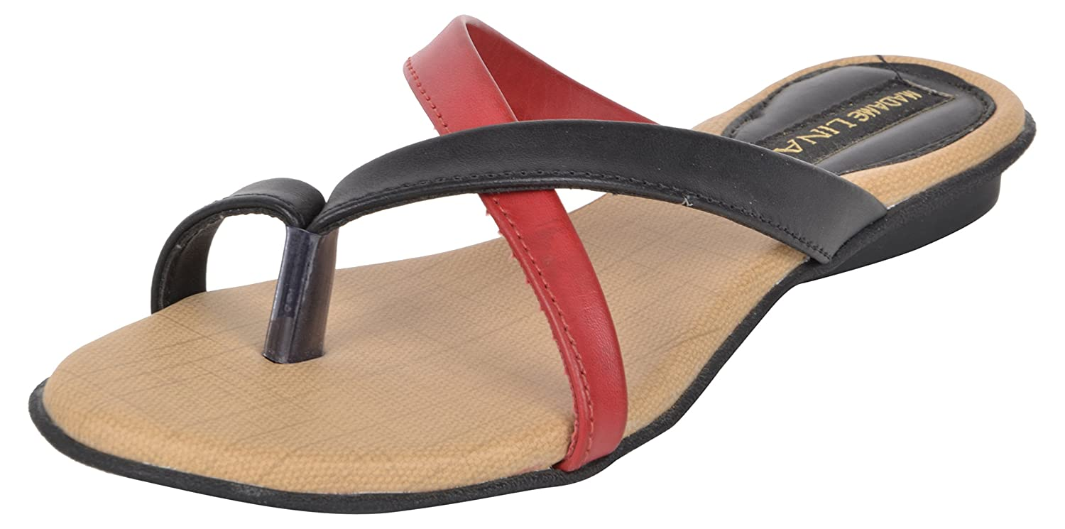 a7b8477927e9 Madam Lina Women s Multi Synthetic Fashion Sandals - 41 EU  Buy Online at  Low Prices in India - Amazon.in