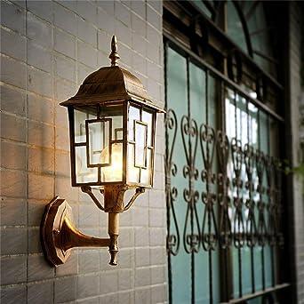 Shopping-Pared creativa villa bohemia balcón luces exteriores luces del jardín lámpara de pared lámpara de pared restaurante en el jardín a prueba de agua: Amazon.es: Iluminación