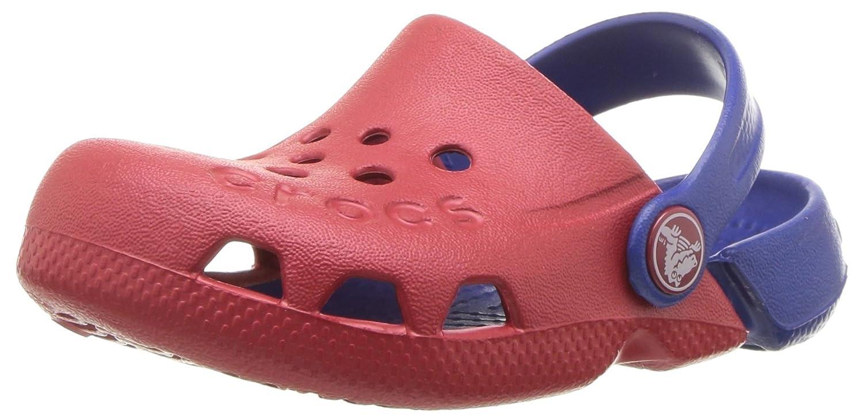 crocs Unisex-Kinder Electro Kids Clogs, Pool