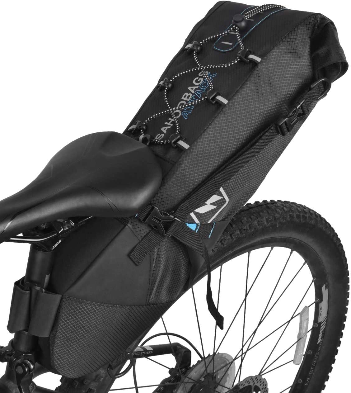 No Standard Vehicle Pouch Bicycle Bags Zipper 1pc Saddle Bags Front Beam Bag N3