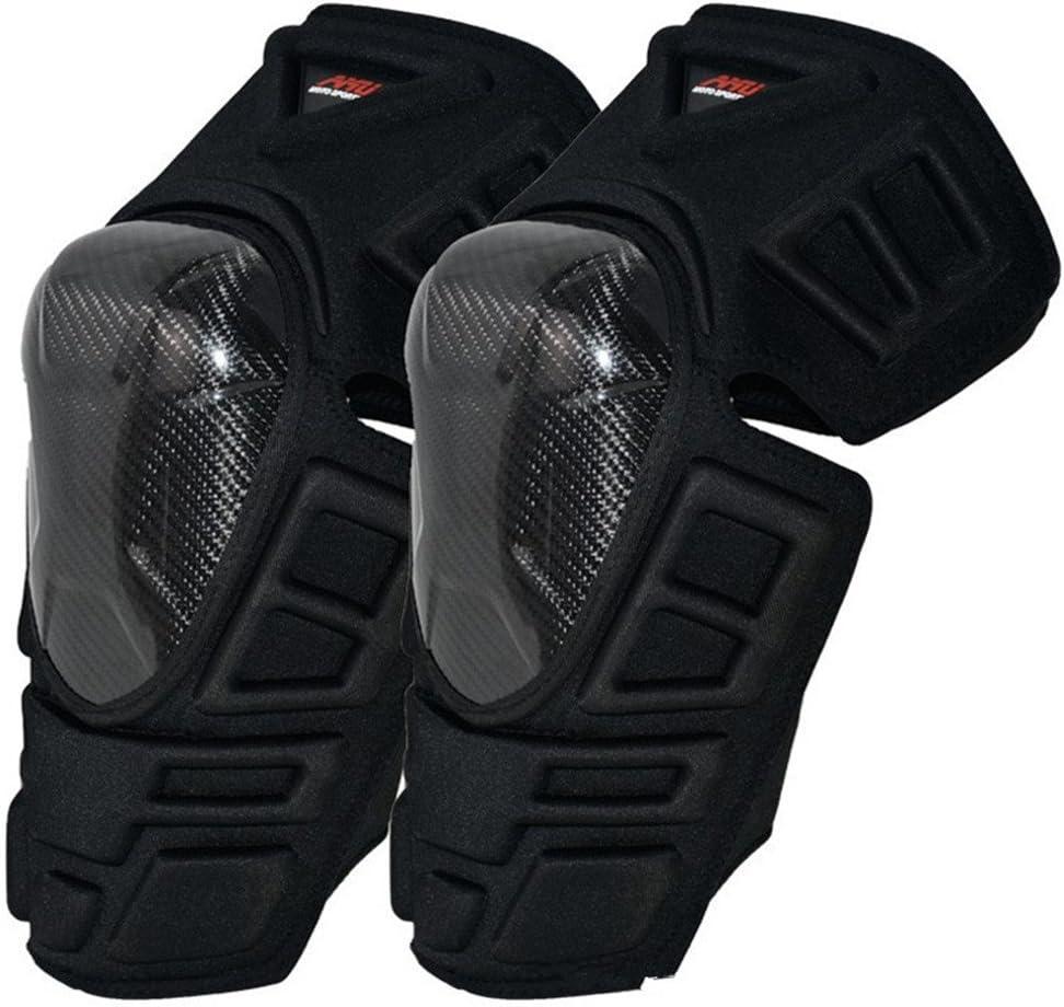 オートバイの膝パッド大人の通気性の調節可能なアラミド繊維モトクロスマウンテンバイクサイクリングスケートボード プロテクター