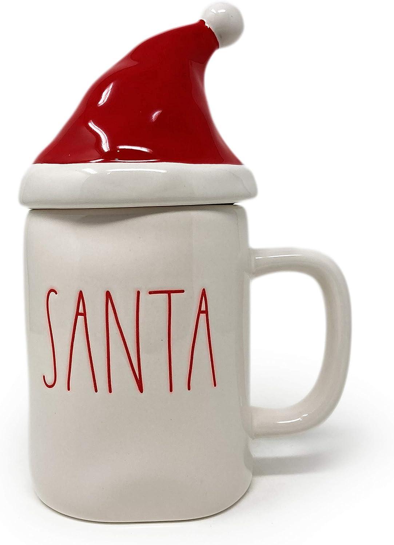 Rae Dunn Santa Nippon regular agency Hat Mug Topper Tea Coffee Holiday Christmas mart A