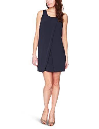 f53b3d2022f Vila - Robe - Femme - Bleu - XS  Amazon.fr  Vêtements et accessoires