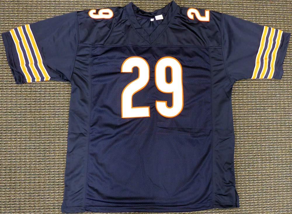 Chicago Bears Tarik Cohen Autographed Blue Jersey Beckett BAS