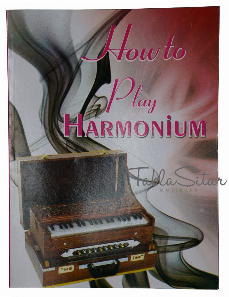 Harmonium, Maharaja Musicals, Folding, In USA, Portable, 9 Stops, Natural Color, 3 1/2 Octaves, Tuned to A440, Coupler, Book, Bag, Indian Musical Instrument (PDI-AHH)