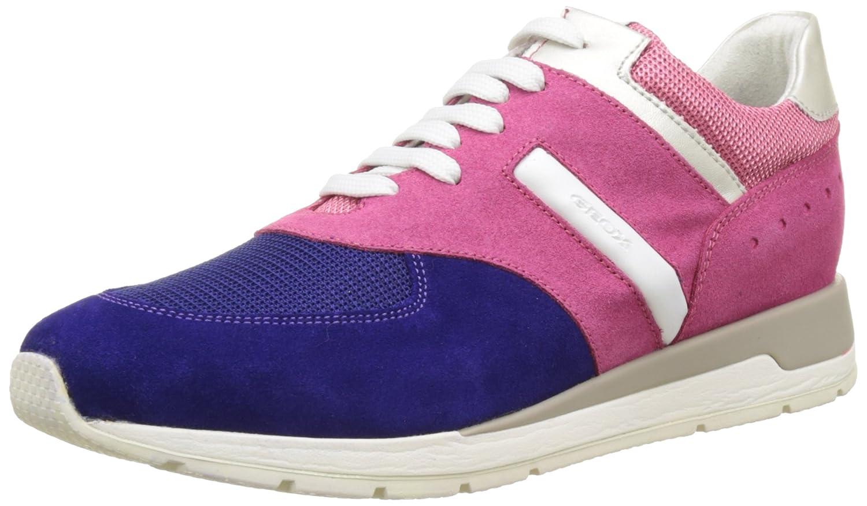 Geox D Shahira A - Zapatillas Mujer 37 EU|Rosa (Pink/Dk Violetce88k)
