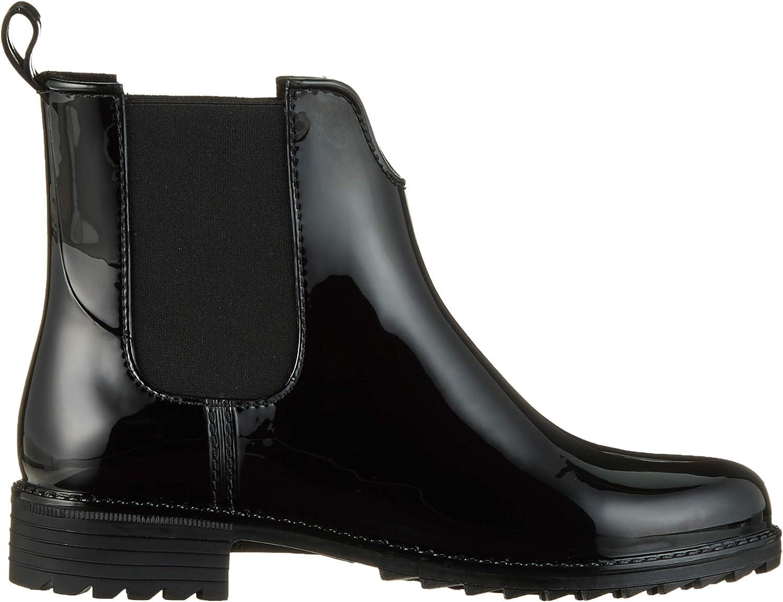 Rieker Damen Chelsea Boots P8280,Frauen Stiefel,Halbstiefel,Stiefelette,Bootie,Schlupfstiefel,gefüttert,Winterstiefeletten,Blockabsatz 3.5cm