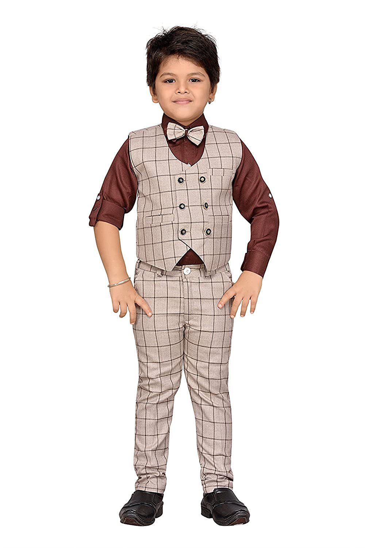 Pants Handsome Gentleman Suit Hot Selling Boy Set Vest 2-8yrs Spring New Arrival Autumn Boys Clothes 3 Pcs Long Sleeve Shirt