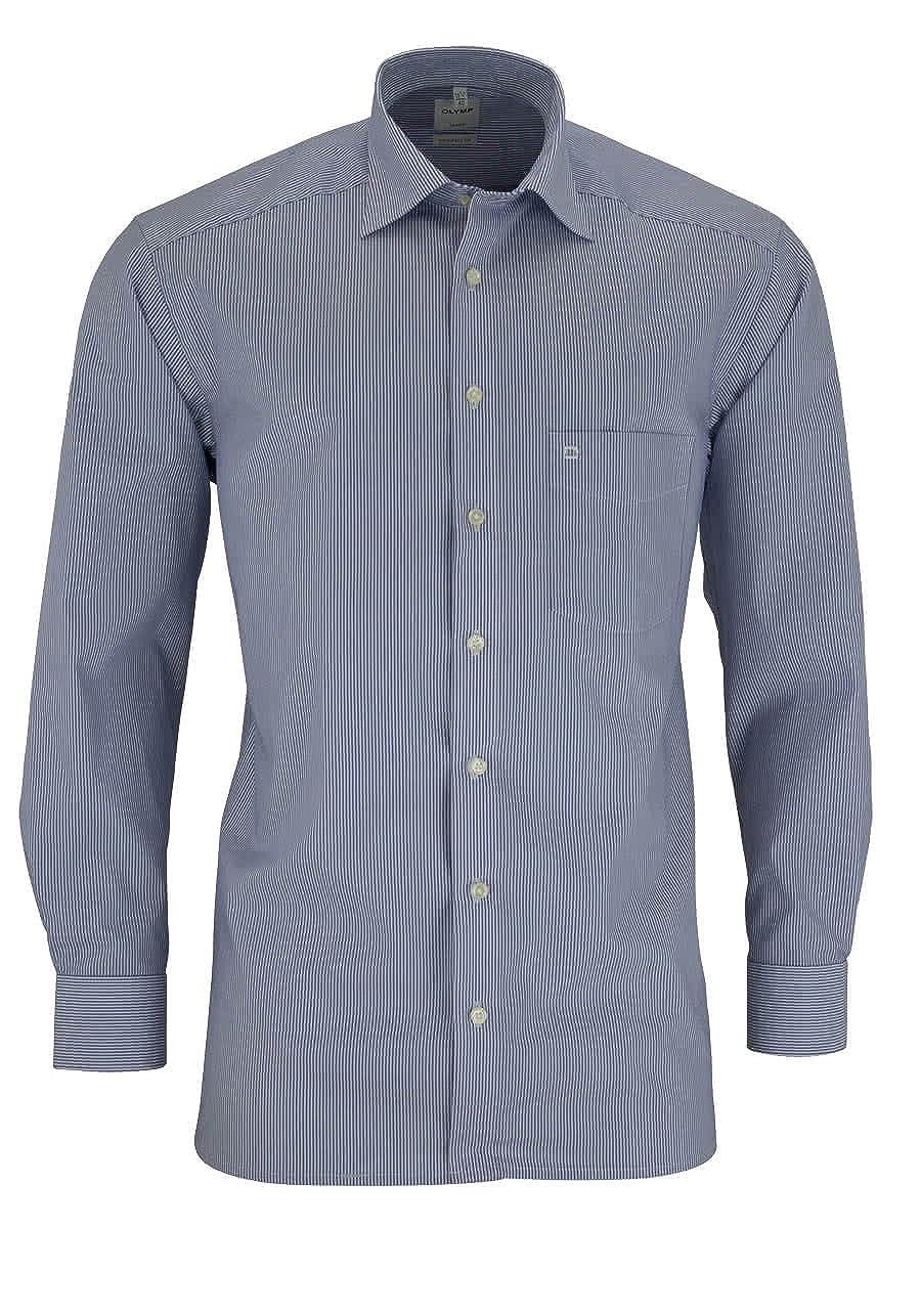 Olymp - Camisa Formal - Negocios - Rayas - Clásico - Manga Larga - para Hombre
