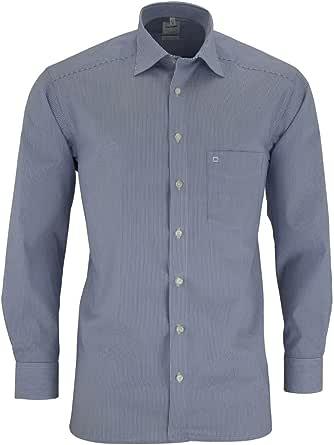 OLYMP - Camisa formal - Negocios - Rayas - Clásico - Manga Larga - para hombre: Amazon.es: Ropa y accesorios