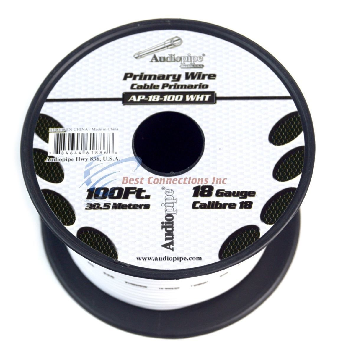 6 Rolls 18 gauge 100 Feet Power Cable Car Audio Primary Remote Wire ...