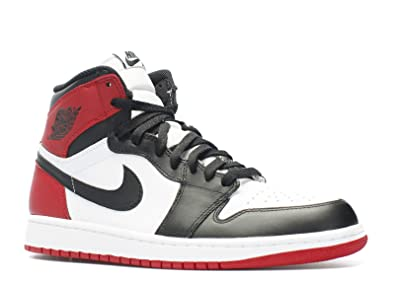 9adae072d5bab AIR Jordan Retro 1 HIGH OG  Black Toe  - 555088-184 - Size