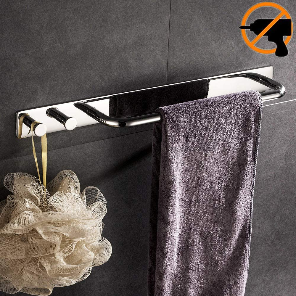 Lolypot Anneau porte-serviettes Porte-serviettes, 304 de Acier Inoxydable de montage support de serviettes Accessoirs WC Salles de Bains