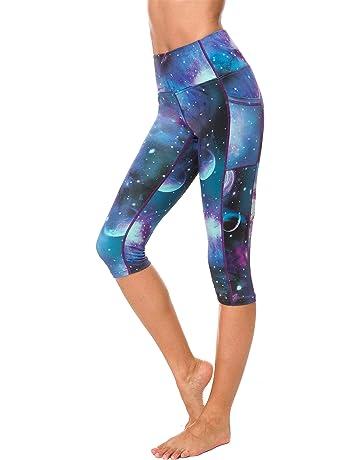 fbd18ae224dde0 Sugar Pocket Womens Outdoor Capris Fitness Tights Leggings Walking Running  Yoga Pants