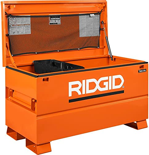 Ridgid 48 in. x 24 in. Job Site Universal Storage Chest