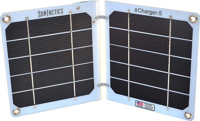 Amazon.com: suntactics S5 Cargador Solar, – fabricado en los ...