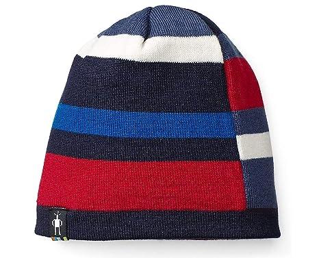 SmartWool Kid s Wintersport Stripe Hat (Deep Navy Heather) Small Medium 5a8ec7c2eb3f