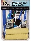 Gam Paint Brushes PT03362 12-Piece Roller Paint Kit