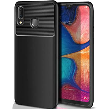 ivencase Carcasa Samsung Galaxy A20e Funda Silicona, Ultra Slim Suave Silicona TPU Bumper Anti-arañazos Antigolpes Caja para Samsung Galaxy A20e Case ...