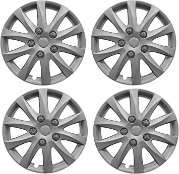 "Set of  4x 15/"" wheel trims to fit  Nissan Micra,Note,Almera"