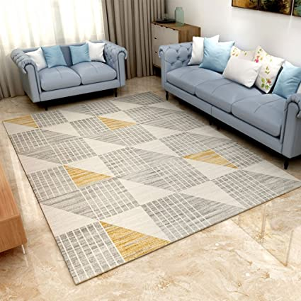 Cool Amazon Com American Style Geometric Plaid Rugs Fireplace Creativecarmelina Interior Chair Design Creativecarmelinacom