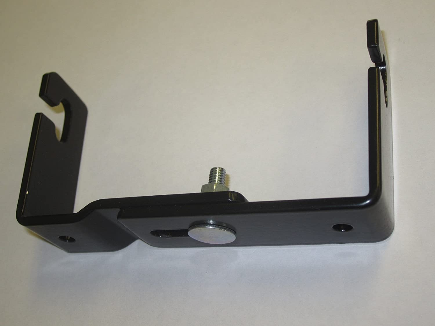 Workman C-523 CB Radio Mini Mounting Bracket With Quick Release Adjustable 3-3//4 to 4-3//4 wide