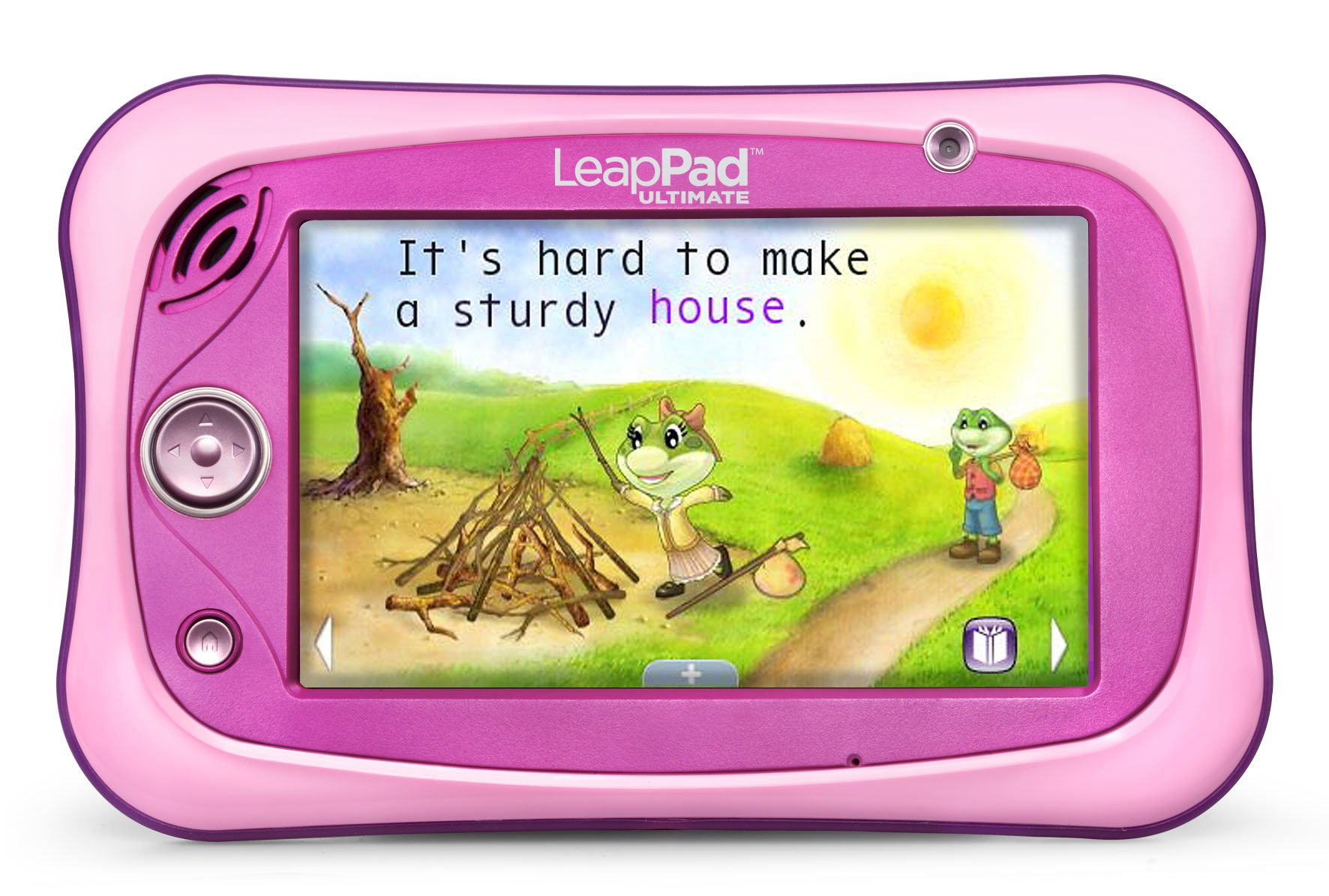 LeapFrog LeapPad Ultimate Ready for School Tablet, Pink by LeapFrog (Image #4)