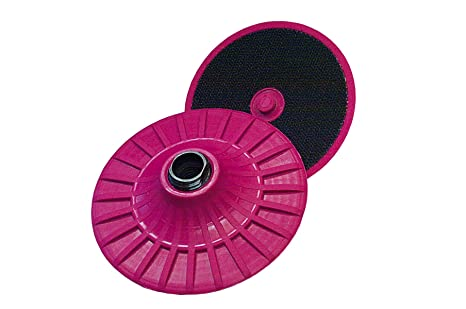 5//8-11 Threaded Arbor 6 Diameter CS Unitec 80150UF Special FIX Backing Disc with PUR Foam Absorption Coating and Centering Pin