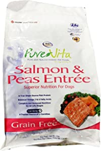 PureVita Salmon and Peas Grain-Free Dog Food 5Lbs