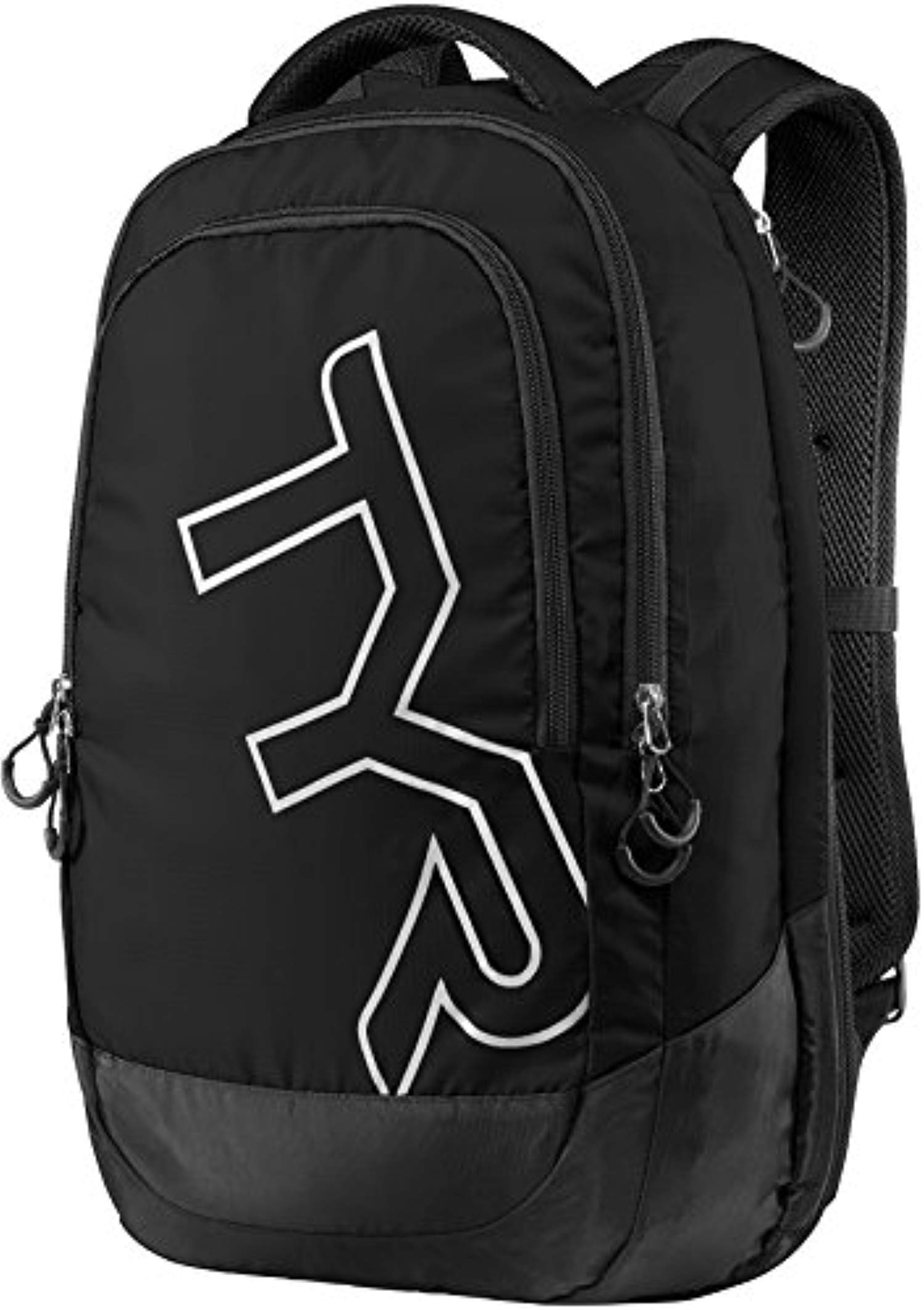 Swim Bundle: TYR Victory Backpack Black All & Swimming Earplugs by Competition Swimwear