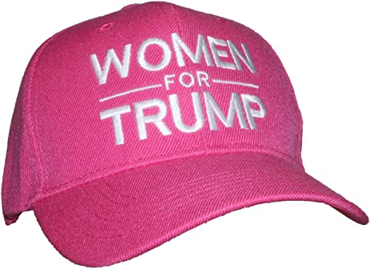 President TRUMP Pink Hat WOMEN FOR TRUMP Embroidered Shipped in Box Nice!!