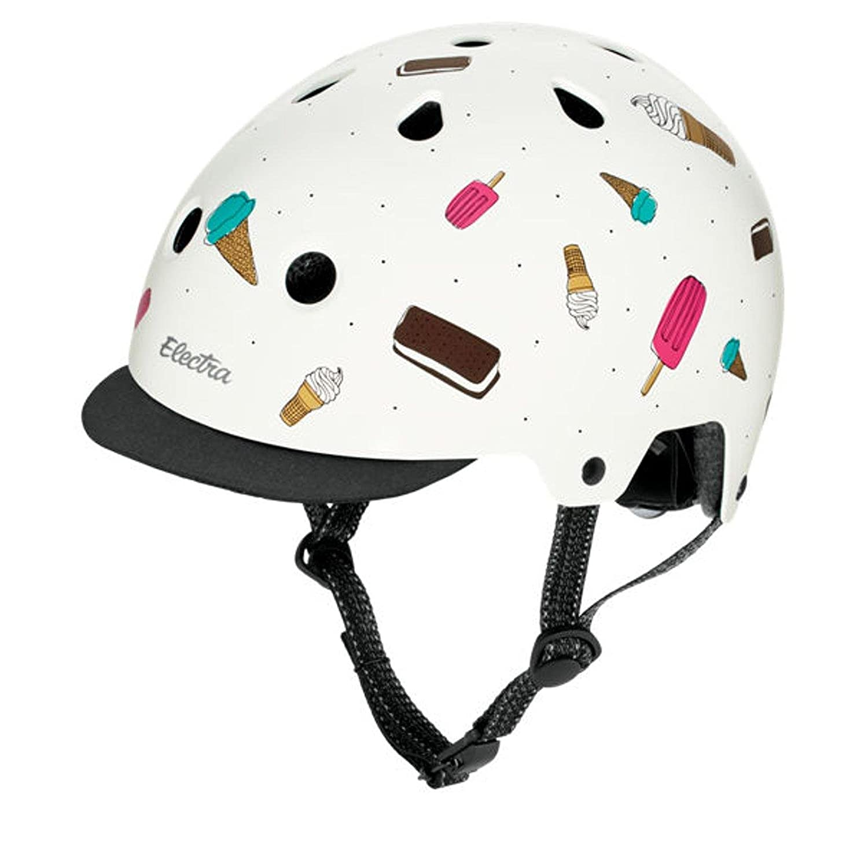 Electra Bicycle Electra Fahrrad Helm Solid Attitude Fashion Serie, EHelm, Farbe Soft Serve, Größe L