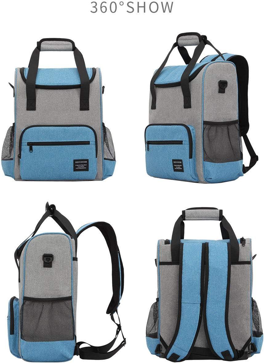 16L Cooler Zaino Termico Borsa Termica Isolato Ice Pack Birra Cibo Cooler Bag Uomini Donne Picnic Thermo Zaini con apribottiglie Red